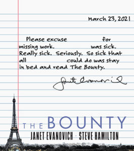 please excuse from work letter regarding The Bounty